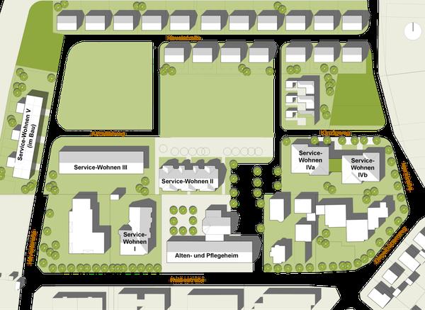 Lageplan Haus Jacobus Osthofen