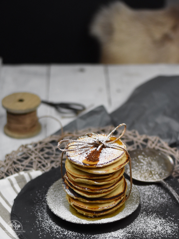 Hafermehl-Pancakes