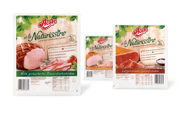 Aoste - Naturissimo - Packaging  - Verpackung - Design - DesignKis - 2012