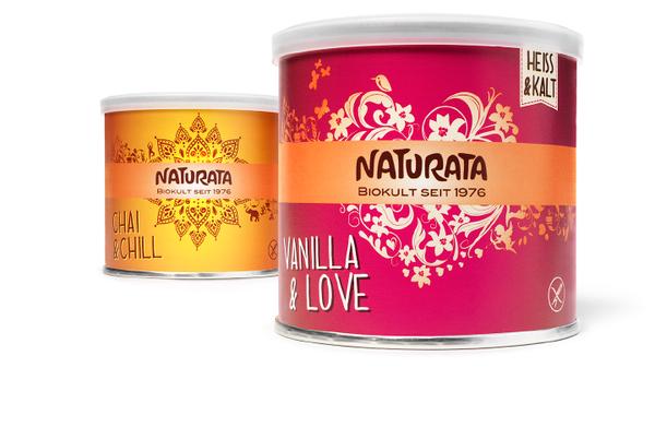 NATURATA - modern line - Kaffee - Ersatz - Emotionen - Special Edition - Bio - Packaging - Design - DesignKis - 2013 - Verpackung