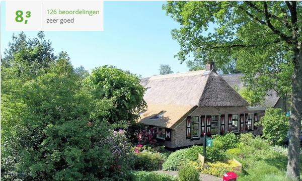 Te huur Saksische vakantieboerderij voor 10 t/m 12 personen in Drenthe met gratis Wifi, honden toegestaan