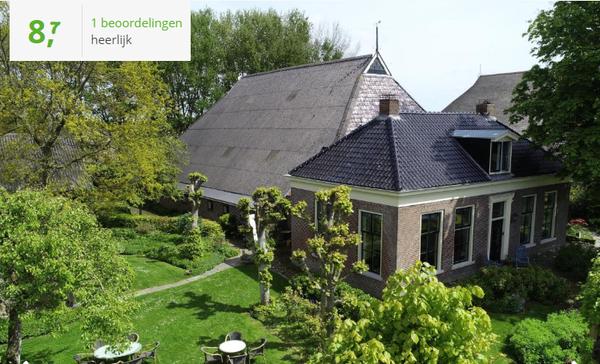 Te huur Authentieke groepsaccommodatie voor 12 personen in Friesland met gratis Wifi, 1 hond toegestaan