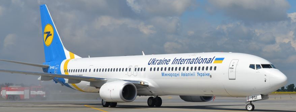 The backbone of Ukraine International's fleet are Boeing 737 aircraft