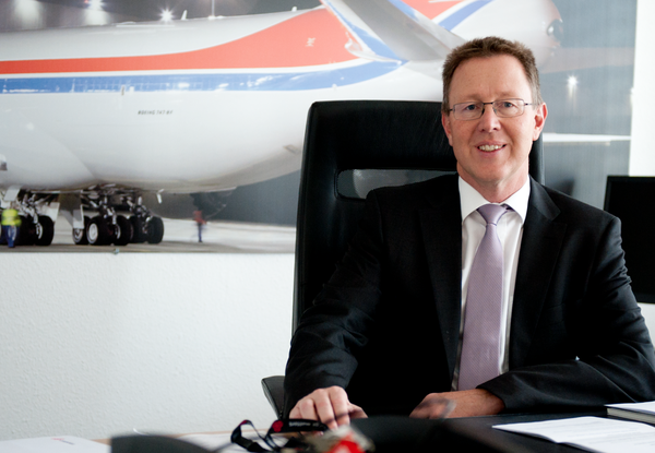 Pursuing very ambitious business targets – Cargolux's new CEO Dirk Reich  /  source: CV