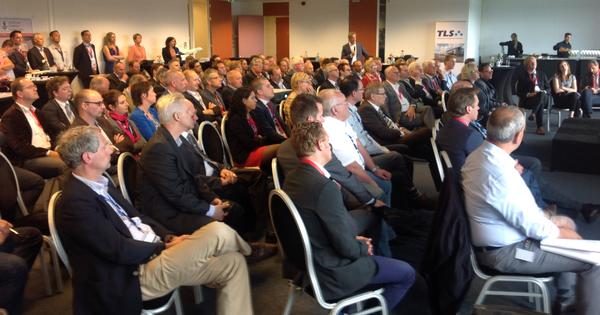 The presentation of Eindhoven's Cargoport concept was well attended by member of the local business community  /  source: ms