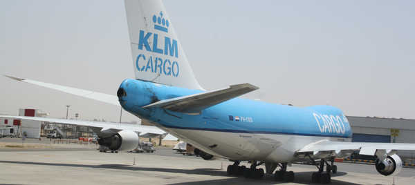Soon out of service? One of KLM operated Boeing 747-400 freighter aircraft  /  source: hs