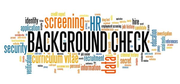 Pre-Employment background checks and screening.