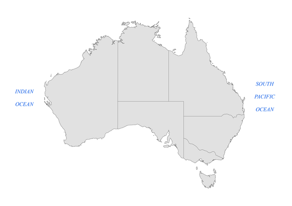 Oceans of Australia