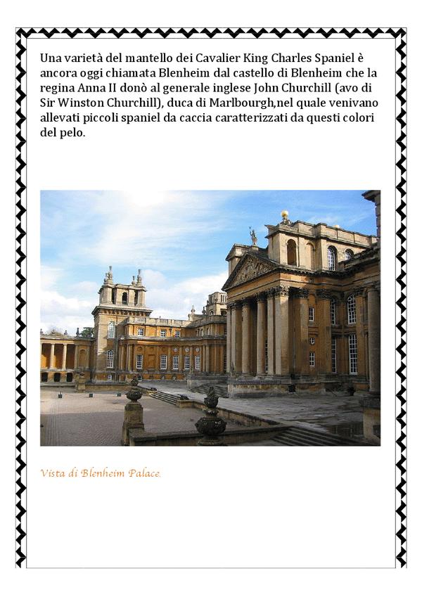 vista di Blenheim Palace