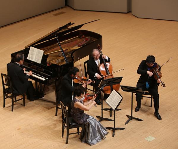 Brahms:Piano Quintet f-moll Op.34    P.野島 稔   Vn. 久保 陽子 白井 圭 Vla.佐々木 亮  Vc. 安田 謙一郎
