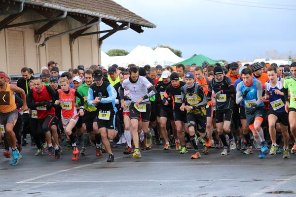 Les 405 partants de la course Nature 2014 s'élancent !