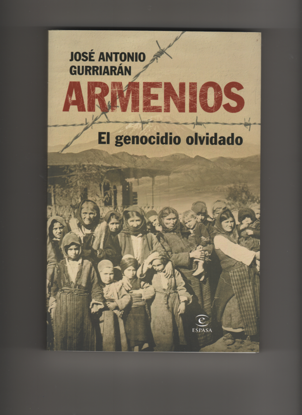 """José Antonio Gurriarán inauguracion de  libro """"ARMENIOS, EL GENOCIDIO OLVIDADO,,"""