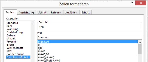Excel: Einheiten automatisch anhängen