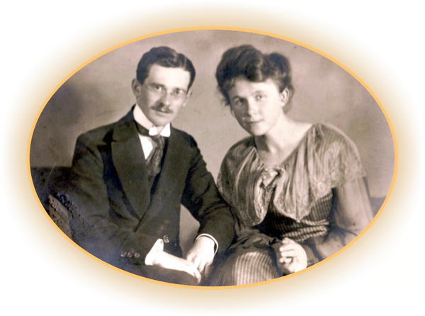 Parents of Bettina Heinen-Ayech, Hanns and Erna Heinen, 1919