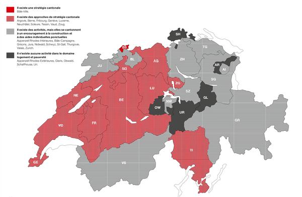 Carte extraite de Logement et pauvreté  Cliquez sur l'image pour l'agrandir