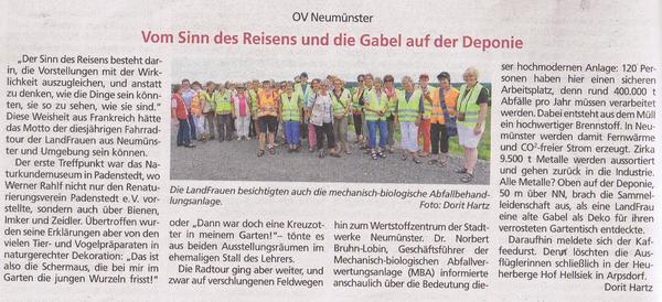 Bauernblatt, 09.08.2014