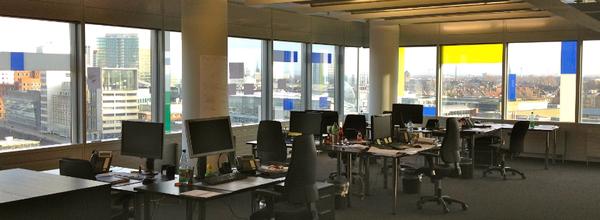 Blick in ein MEC Office, NRW, Deutschland