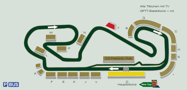 Formel 1 Rennstrecke Barcelona