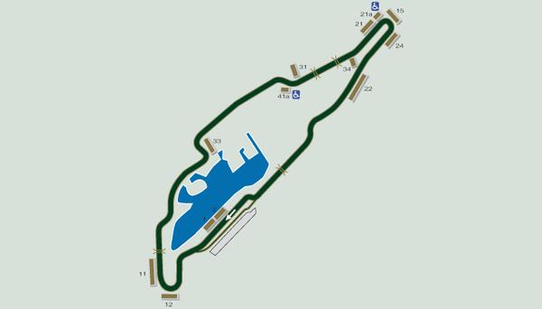Formel 1 Rennstrecke Kanada