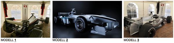 Fotoshooting Formel 1 Rennwagen mieten