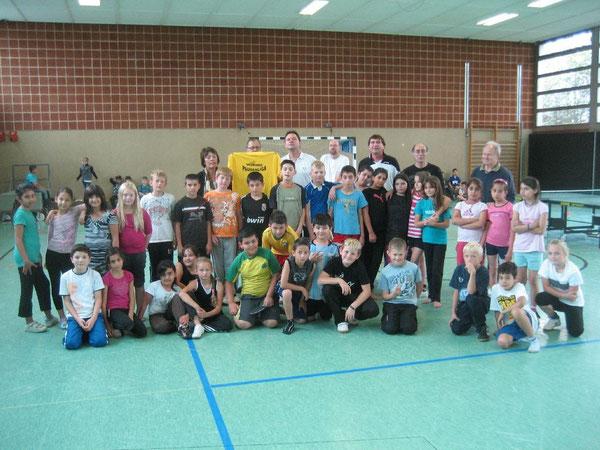 Schülerinnen und Schüler freuen sich auf die Finalrunde bei der Westhagener Ping Pong Pausenliga