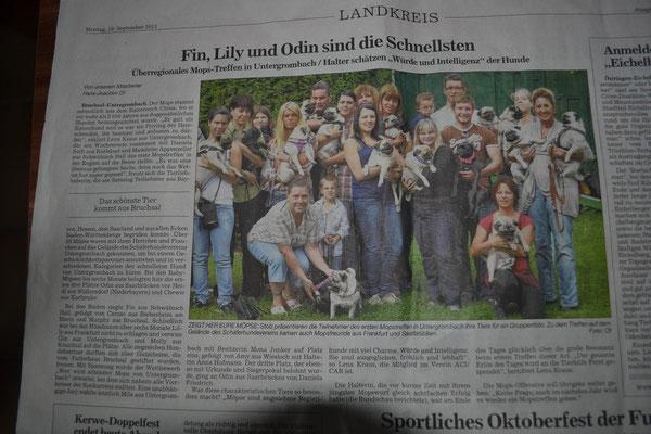 "Nachbericht Zeitung ""BNN"""