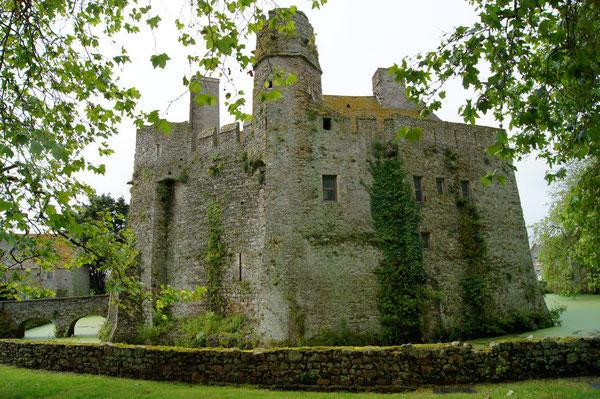 Château fort de Pirou.