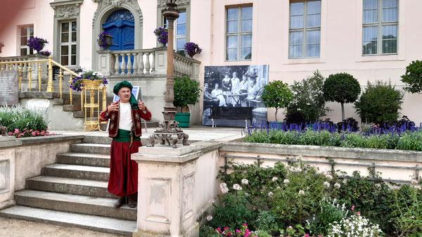 Der Fürst im Schlosspark Branitz