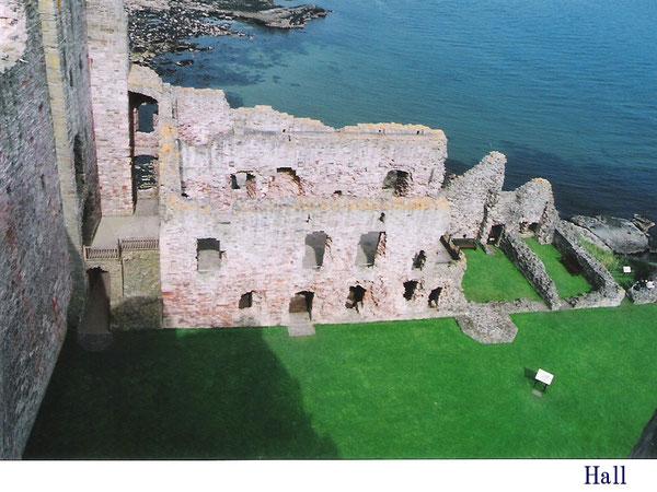 Tantallon Castle Hall