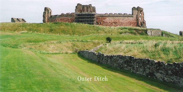 Tantallon Castle Outer Ditch