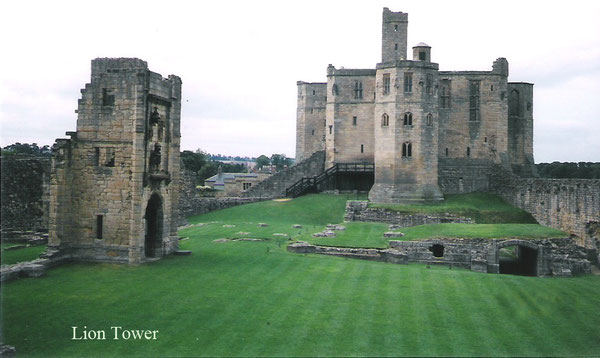 Warkworth Castle Lion Tower