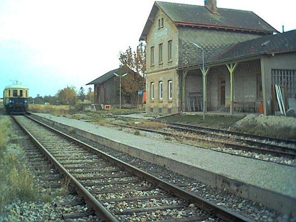 Letzter Personenzug 19 Oktober 2003.