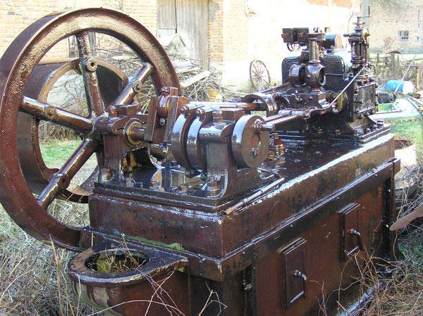 Kleindampfmaschine Altmann Berlin Baujahr 1897.