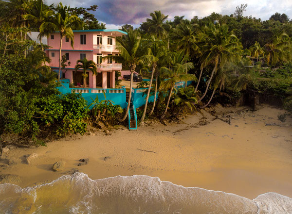 vacation, rental, oceanfront, rincon