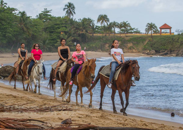 rincon, horseback, riding, beach, trails, pintos r us