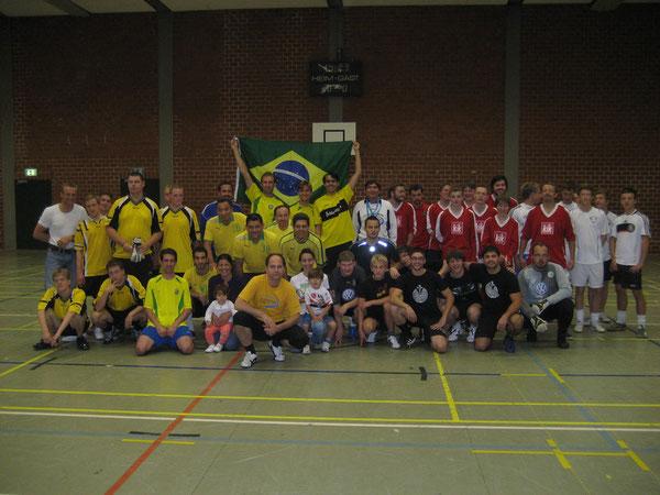 Fußballer beim 6. Westhagener Kirchen Cup
