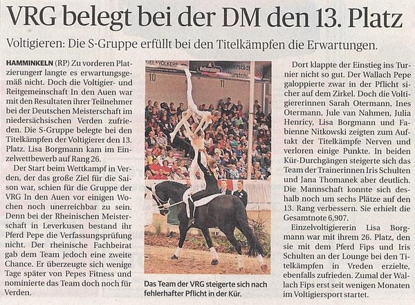 Rheinische Post vom 17.09.2013