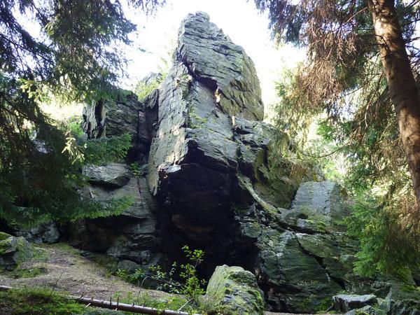Kletterfelsen Lohberg