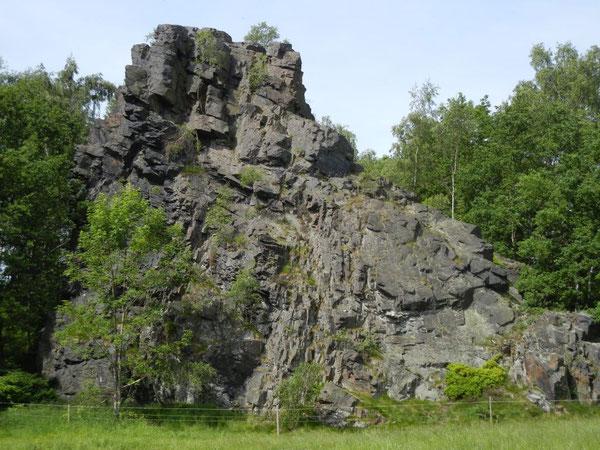 Kletterfelsen Lochstein