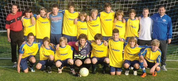 Das C- Jugend Team der SG Oberschefflenz/Schefflenz --- Zum Vergrößern auf das Bild klicken