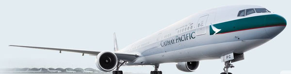 Cathay's tonnage increased but yields went south from January to July /  source: Cathay
