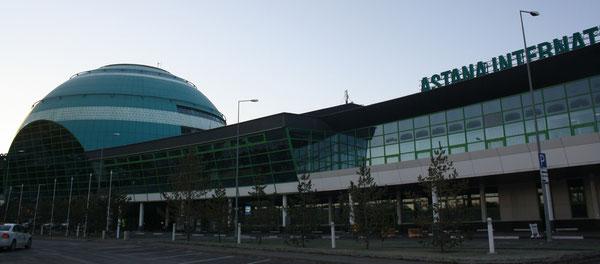 Astana Airport is awaiting Swissport's ground handling services  /  source: hs