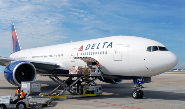 A Delta operated Boeing 777 will last be seen on February 10, 2016 on the Atlanta-Dubai route  -  courtesy DL