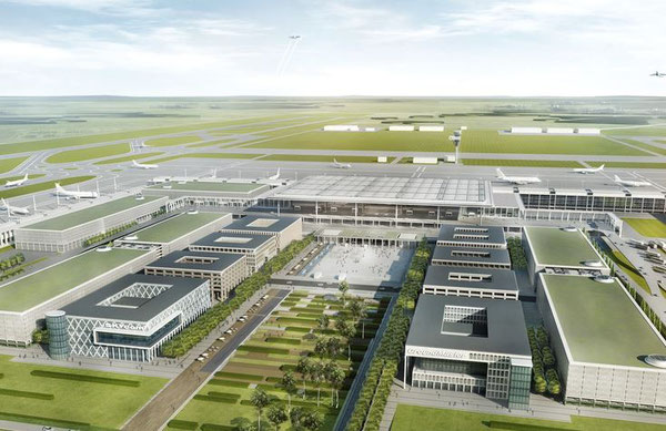 Needs to be expanded before the first flight takes off – Berlin Brandenburg International (BER)  /  illustrations: airport authority