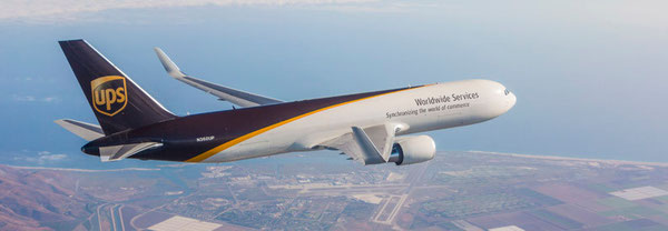 Boeing 767-300F of UPS  -- credit UPS