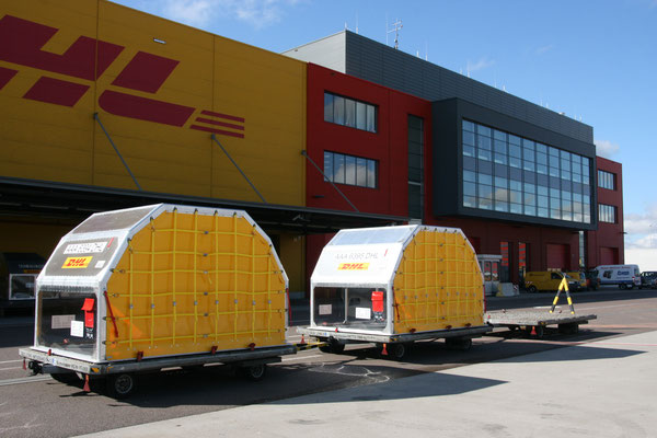 New generation of DoKaSch-produced Lightweight Containers utilized by DHL Express  -  courtesy DoKaSch
