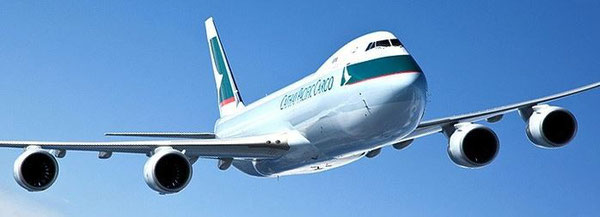 Hong Kong-based Cathay Pacific prefers operating 747-8 freighters  -  courtesy CX