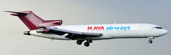 Raya Airways B727-200F - Courtesy F. Lee