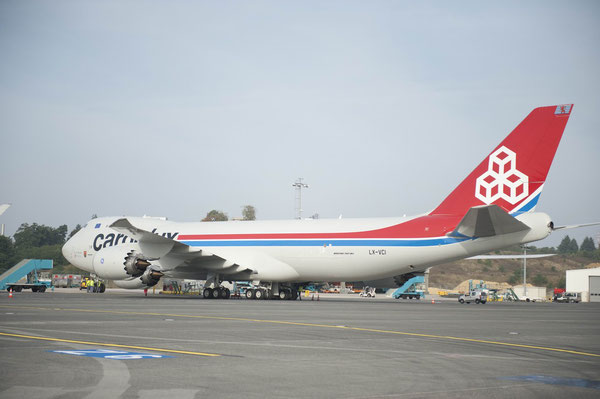 The LCGB pilot's action disrupted Cargolux's operations partially  /  picture: hs