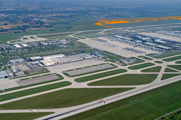 Animation of MUC's 3. runway  /  courtesy airport operator